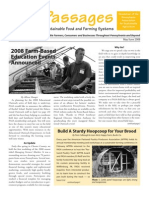 May-June 2008 Passages Newsletter, Pennsylvania Association for Sustainable Agriculture