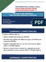 mediaandinformationliteracymil-legalethicalandsocietalissuesandinformationpart1-161005034533