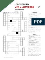 Crossword Adj Adv