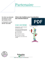 Choix Fusibles Protection Transformateurs