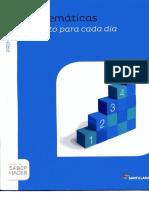 4P SANTILLANA Matematicas Cuadernillo