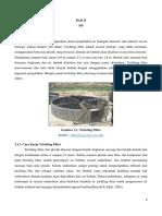Perencanaan Bangunan Pengolahan Air Buangan