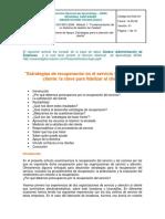 4. Estrategias Recuperación y Atención Cliente