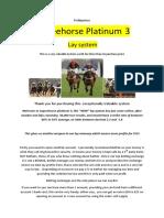 Profitpunters Layzeehorse Platinum 3 Lay System