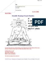 Gayathri Mantra-Scientific Meaning