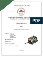 Informe Rebobinaje de Un Motor Universal