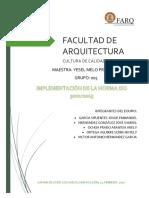 Implementacion de La Norma ISO 9001