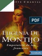 Eugenia de Montijo - Genevieve Chauvel