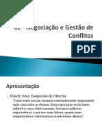 01 - Negociação e Gestão de Conflitos