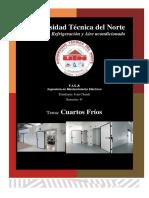 Informe de Refrigeración_CuartosFríos