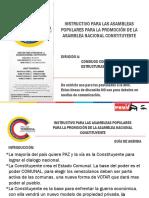 Documento para el debate comunal de la Constituyente