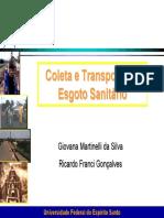 Coleta e Transporte de Esgoto Sanitário