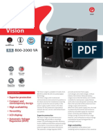 Vision Range of UPS  for Protection of Peripheral  Network Devices - Riello UPS