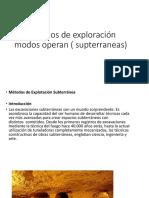 Metodos de Exploración