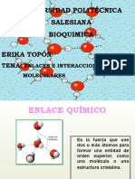 Bioquimica Enlaces e Interracciones