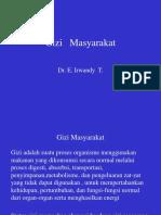 Gizi Masyarakat Dr. Irwandy