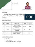 Deepan Prabhu CV