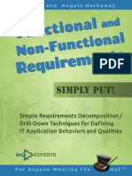 Functional and NonFunctional Requirements