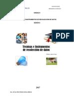 Tecnicas e Instrumentos de Recolección de Datos (1)