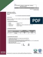 Cotización Hormigón FERROVIARIA ORIENTAL (H30 a Diez Días)