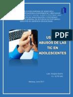 USOS Y ABUSOS DE LAS TIC EN ADOLESCENTES