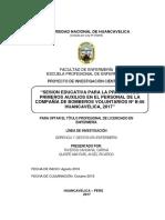 02 Proyecto Práctica de Primeros Auxilios en Bomberos Corregido 2017