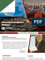 Evaluacion de Yacimientos Minerales
