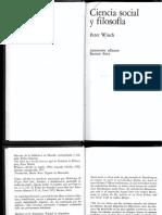 12 Peter Winch - Ciencia Social y Filosofía.pdf