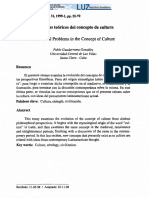 Problemas Teóricos Del Concepto de Culutra - Pablo Guadarrama