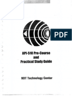 135112316 API 510 Pre Course Practical Study Guide PDF