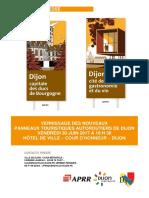 Les Nouveaux Panneaux Autoroutiers de Dijon