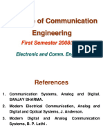 Principle of Communication Engineering