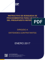 Instructivo Para Calculo Presupuesto Referencial
