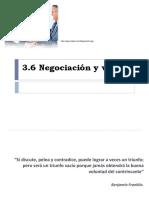 3.6 Tecnicas de Negociaciones