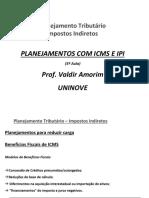 PLANEJAMENTO COM ICMS  E IPI