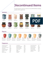 Scentsy Discontinued Candle Warmers