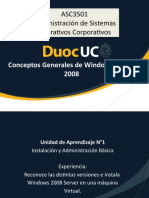 1- Conceptos Generales de Windows Server 2008