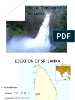 Geology of Sril Lanka