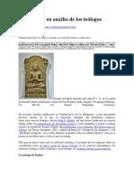 Buda Acude en Auxilio de Los Teólogos