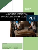 AUDITORI AMBIENTAL.inveriones Forestal La Selva EIRL