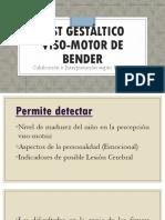 Test Gestáltico Viso-motor de Bender