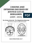 Bersamin Cases Digest