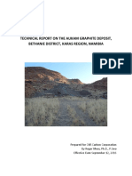 Aukam Graphite Deposit 2016 Technical Report (1)