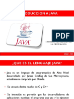 Introduccion Java