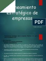 Planeamiento Estratégico de Empresas