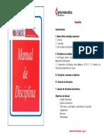 Manual Disciplina