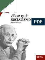 ¿Por que socialismo?