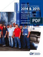 Cerveceria Nacional S.a. Reporte DS Años Fiscales 2014 y 2015