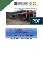 Informe de Gestion de Riesgos y Desastres Gramalotes 2017
