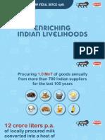 Enriching Indian Livelihoods